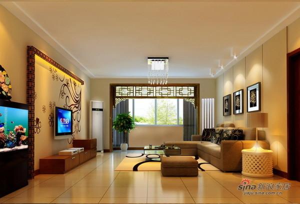 简中式客厅