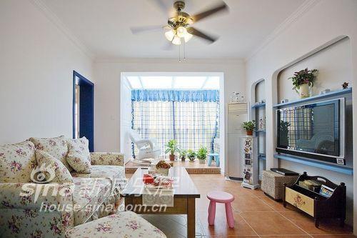 田园 复式 客厅图片来自用户2737946093在田园+地中海混搭复式实景图26的分享