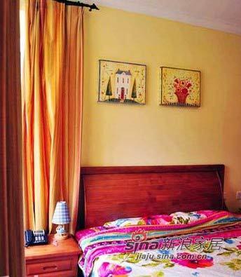 地中海 一居 卧室图片来自用户2756243717在文艺夫妻的70平浪漫地中海56的分享