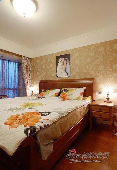 简约 三居 卧室图片来自用户2739153147在细节透细致 雅致三居是谁家13的分享