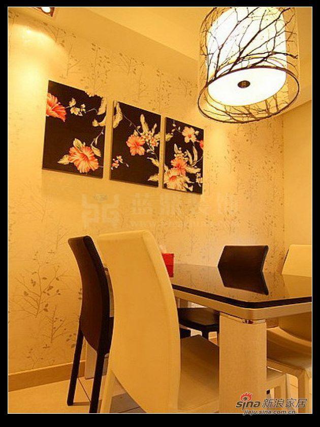 新古典 三居 餐厅图片来自用户1907701233在120平 时尚温馨居室41的分享