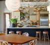 22图北欧柔情餐厨设计 诠释悠然主厨时光