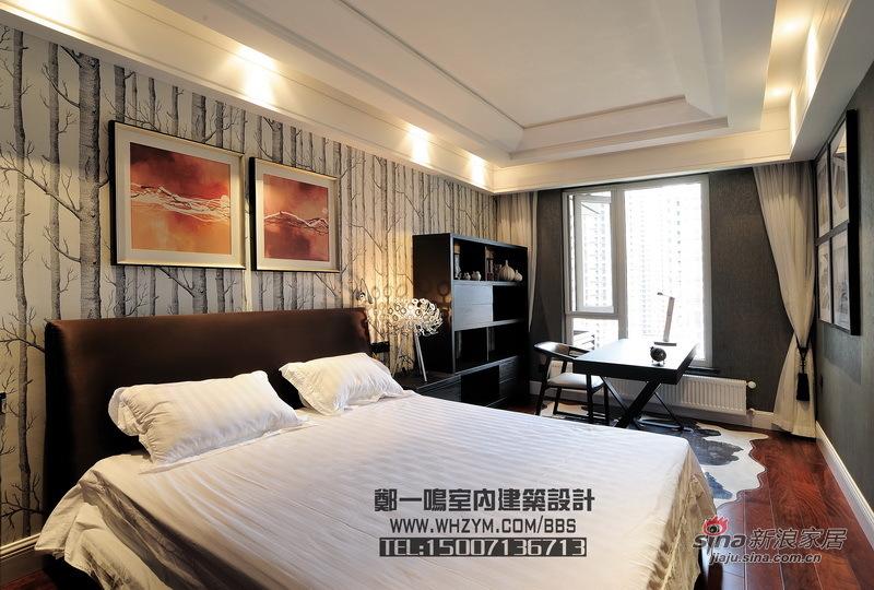 港式 四居 卧室 白领 舒适图片来自郑一鸣室内建筑设计工作室在【高清】谦和180平御悦悠然 空间的无限惬意62的分享