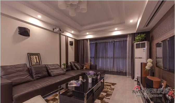 简约 三居 客厅图片来自用户2737735823在【高清】9万装110平素雅现代大气之家91的分享