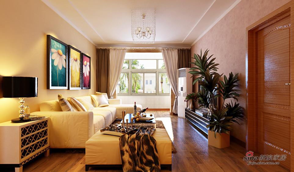 简约 二居 客厅图片来自用户2738820801在中年夫妇10万装修86平米现代简约两居89的分享