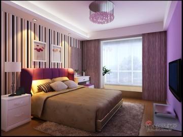 120平丽岛美生装修设计三居室48