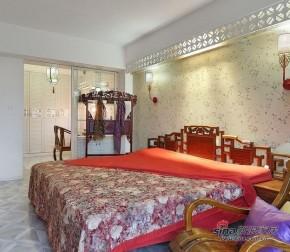 中式 三居 卧室 白富美图片来自家装大管家在【高清】150平儒雅时尚新中式3居72的分享
