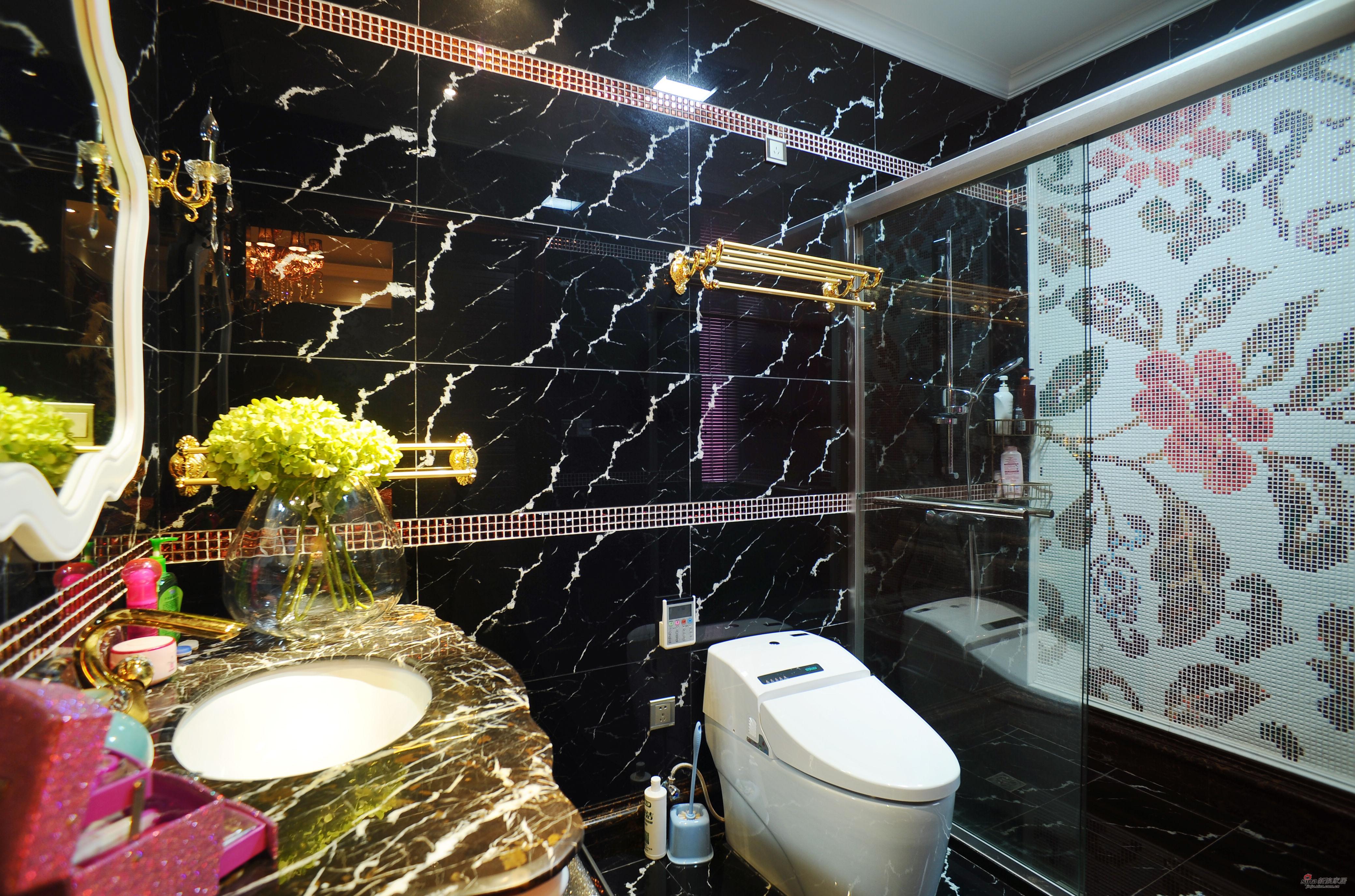 欧式 别墅 卫生间图片来自用户2746953981在【高清】欧式风格奢华设计399平米大豪宅29的分享