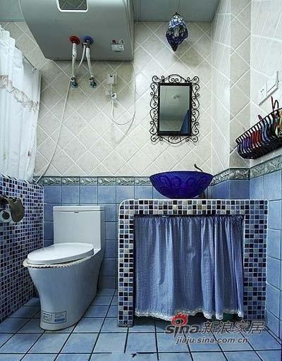 地中海 三居 卫生间图片来自用户2757320995在【多图】地中海风格案例赏析 魅力美家43的分享