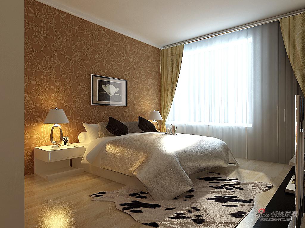 简约 三居 卧室图片来自用户2745807237在简约大气郦城派33的分享