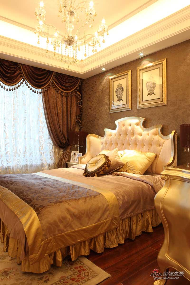 新古典 三居 卧室图片来自用户1907664341在【高清】139平法式新古典风格样板间72的分享
