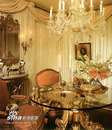 欧式 别墅 餐厅图片来自用户2757317061在经典欧式家的靡靡之味 奢华风格卷土重来51的分享