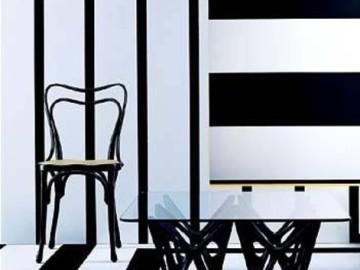 150平现代时尚黑白家居设计44