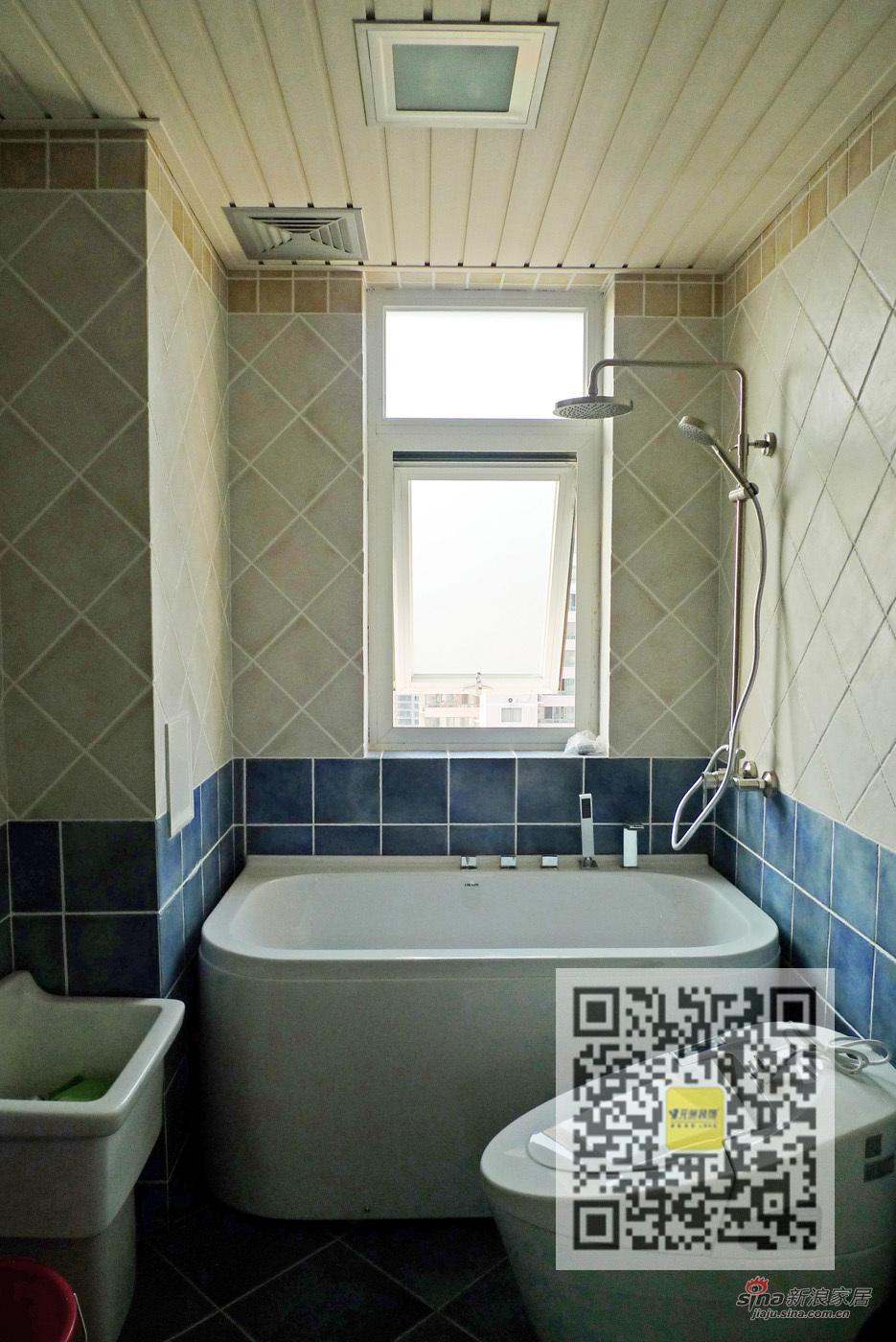 欧式 四居 卫生间图片来自用户2746953981在四居室欧式风格装修案例95的分享