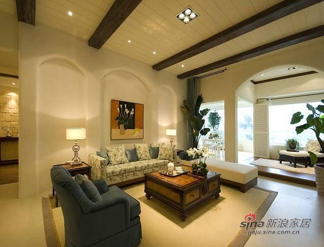 地中海 三居 客厅图片来自用户2756243717在7万营造180平明亮地中海家34的分享