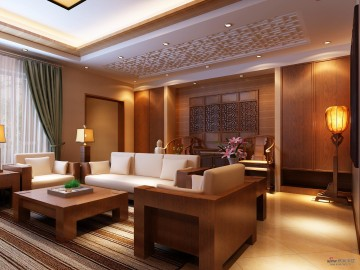 240平米打造现代简约中式《东方情韵》39