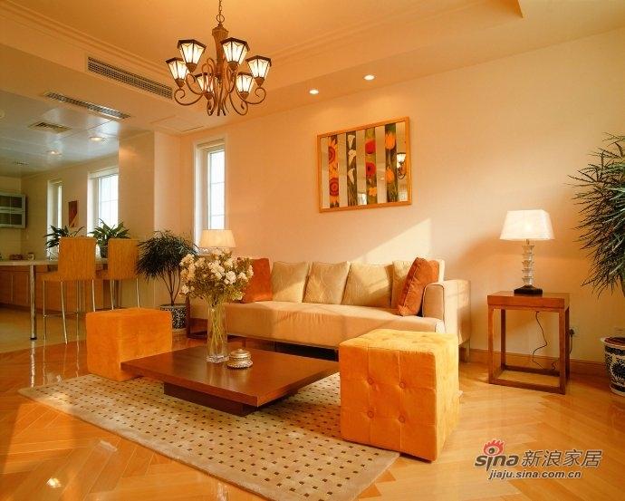 欧式 loft 客厅图片来自用户2772856065在168平金色漫香苑尽演欧美风情美家47的分享