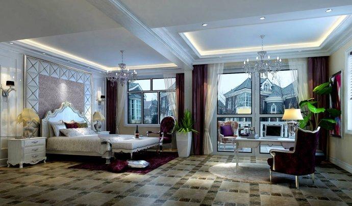 欧式 三居 卧室图片来自用户2772873991在129平奢华欧式三居28的分享