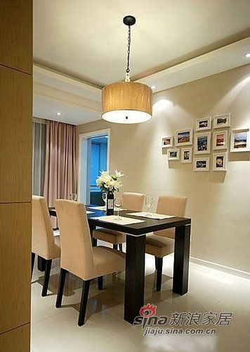 简约 三居 餐厅图片来自用户2738093703在7万装修95平浪漫简约3居74的分享