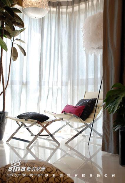 风尚装饰样板间 客厅阳台
