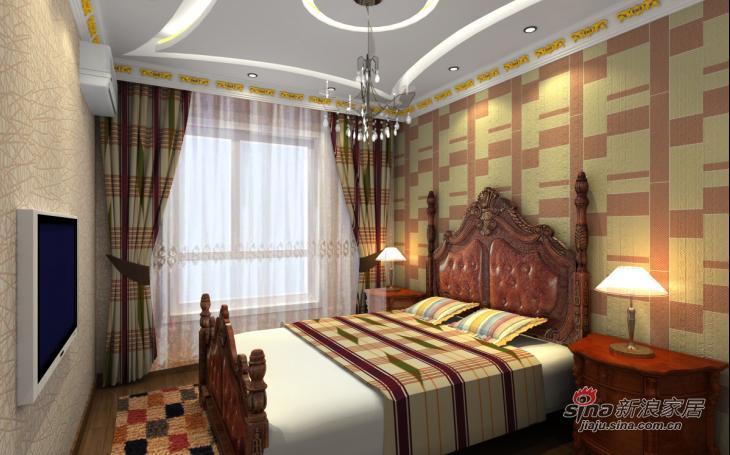 欧式 复式 卧室图片来自用户2745758987在润枫锦尚三口之家的欧式之风22的分享