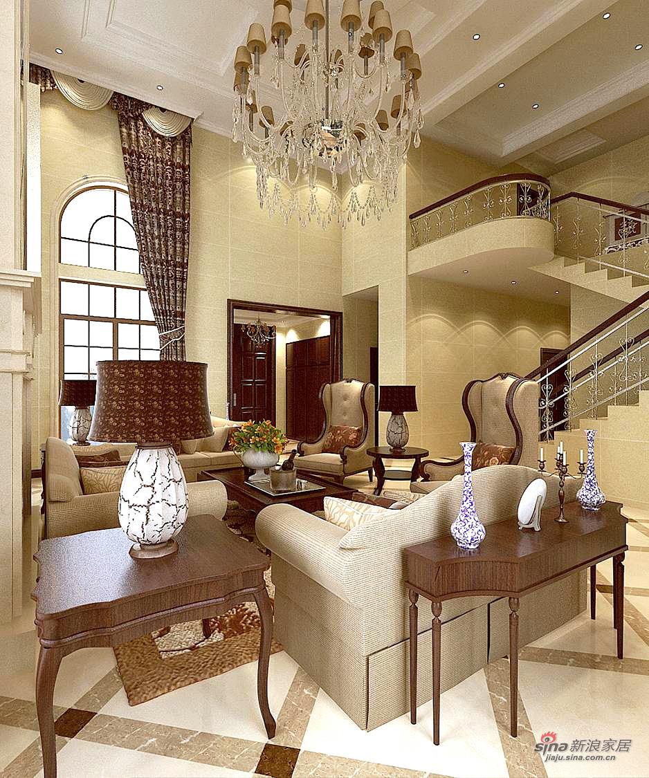 欧式 别墅 其他图片来自用户2746889121在366平欧式豪华别墅案例82的分享