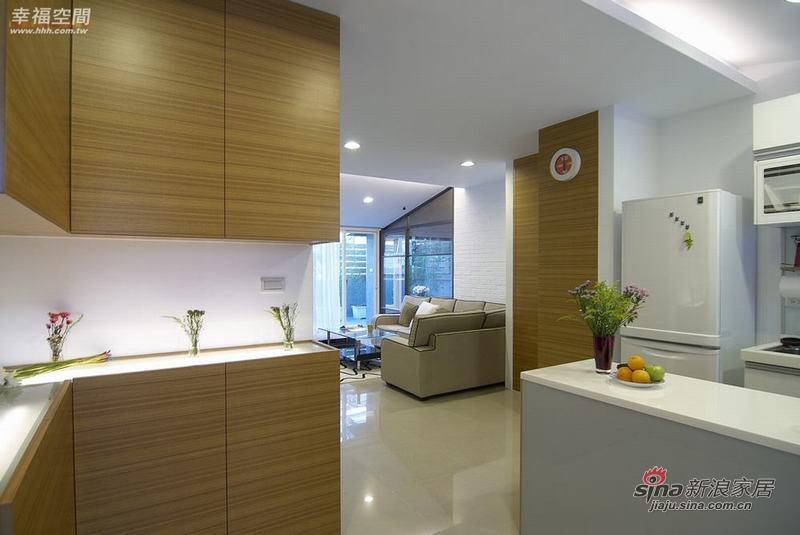 简约 复式 厨房图片来自幸福空间在2个人的79P清新自然复式公寓94的分享