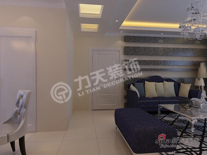 欧式 三居 玄关图片来自阳光力天装饰在福晟钱隆城129平米简欧11的分享