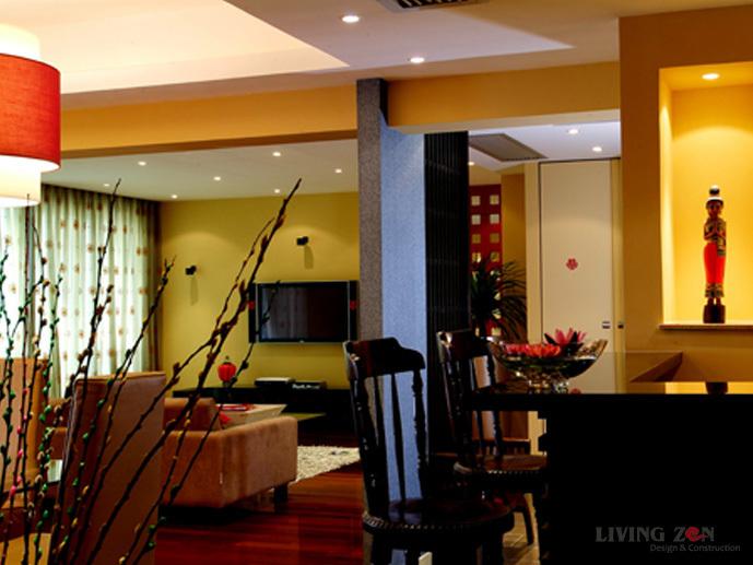 混搭 四居 客厅图片来自用户1907691673在混搭之黄﹠东方异域63的分享