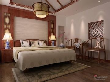 【高清】唯美东南亚风格别墅装修效果图21