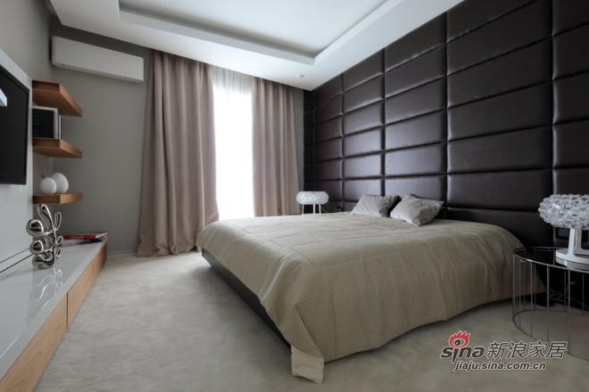 简约 二居 卧室图片来自城市人家犀犀在87平米现代低奢21的分享