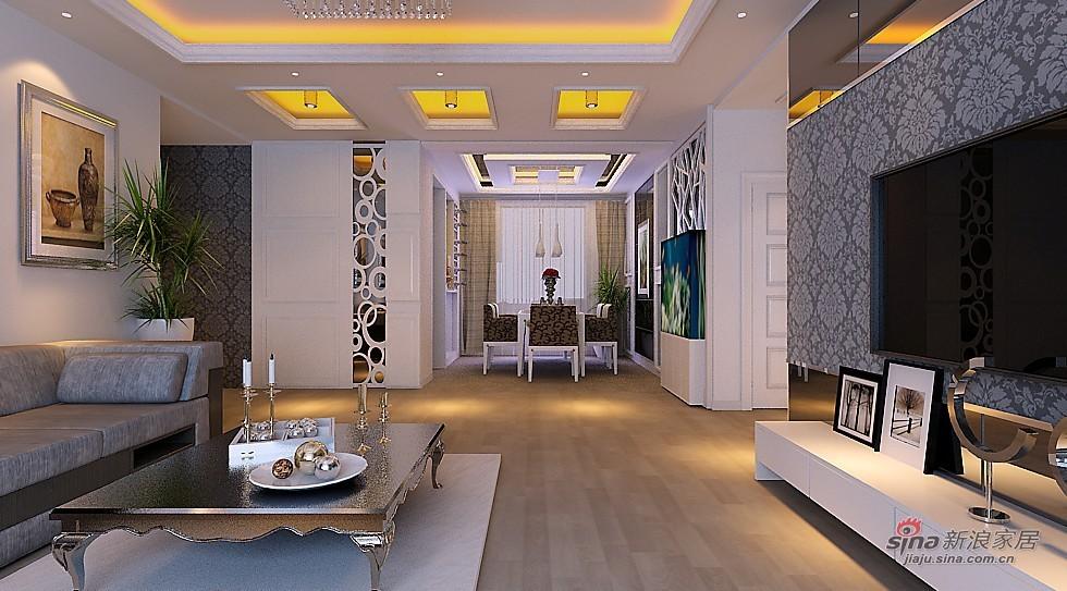 简约 三居 客厅图片来自用户2738093703在8万设计阳光波尔多大气3居室87的分享