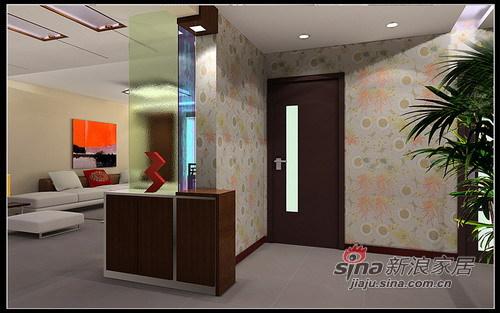 中式 三居 玄关图片来自用户2737751153在北沙滩中式风格95的分享