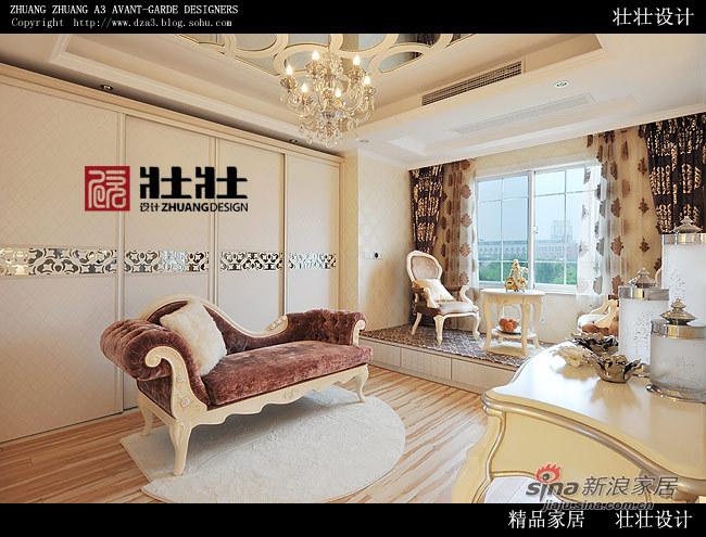 欧式 别墅 卧室图片来自用户2557013183在成功男400平欧式银贵生活41的分享