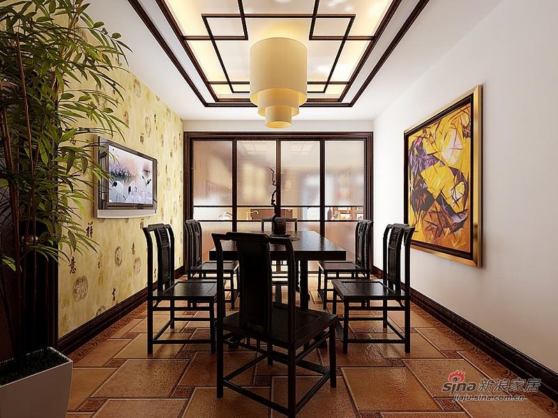 中式 四居 餐厅图片来自用户1907661335在曼妙260平中式旭日东升吉祥家72的分享
