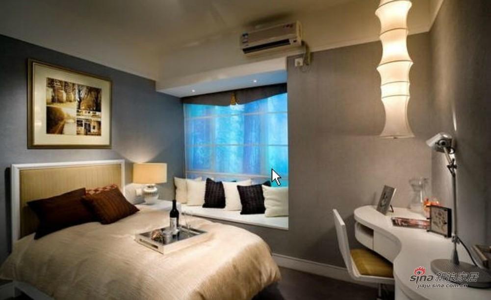 港式 三居 卧室图片来自用户1907650565在143平银色巴黎之家92的分享