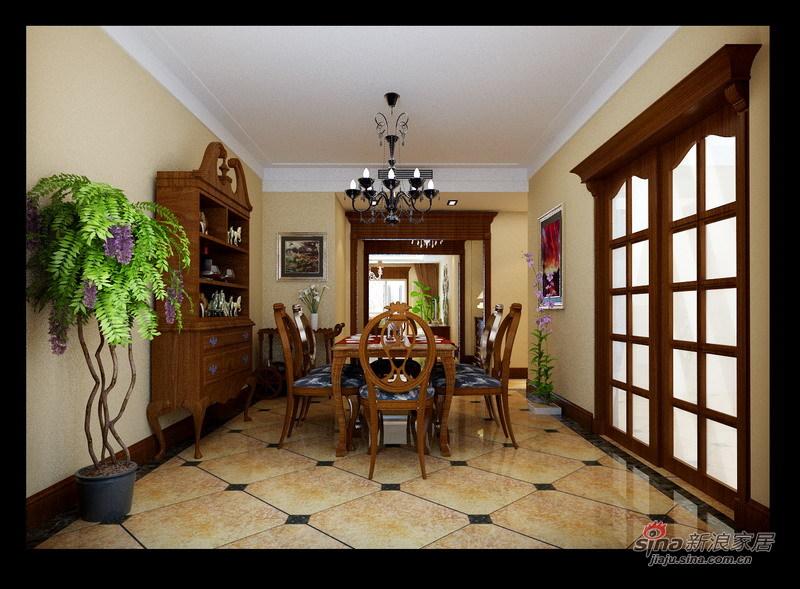 简约 三居 餐厅图片来自用户2737786973在古典欧式混搭25的分享