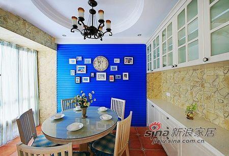 地中海 三居 餐厅图片来自用户2757320995在潇洒哥的3居田园地中海混搭家37的分享