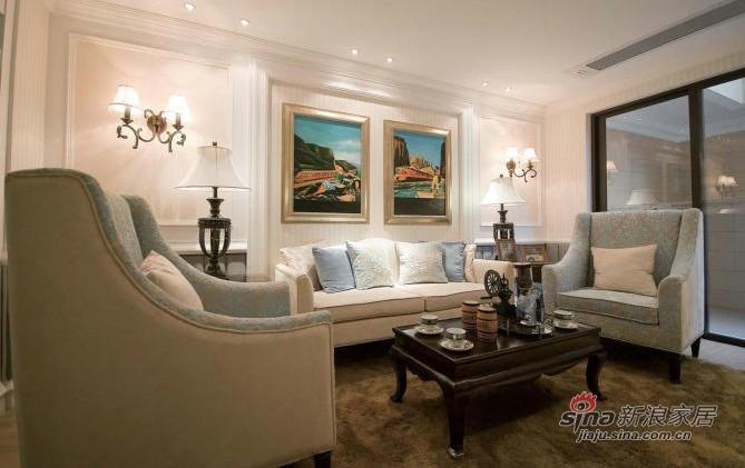 北欧 跃层 客厅图片来自用户1903515612在173平北欧风格呈现不一样的新家18的分享