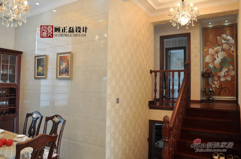 欧式 四居 客厅图片来自用户2757317061在【高清】四室两厅跃层公寓雅致华丽欧式实景54的分享