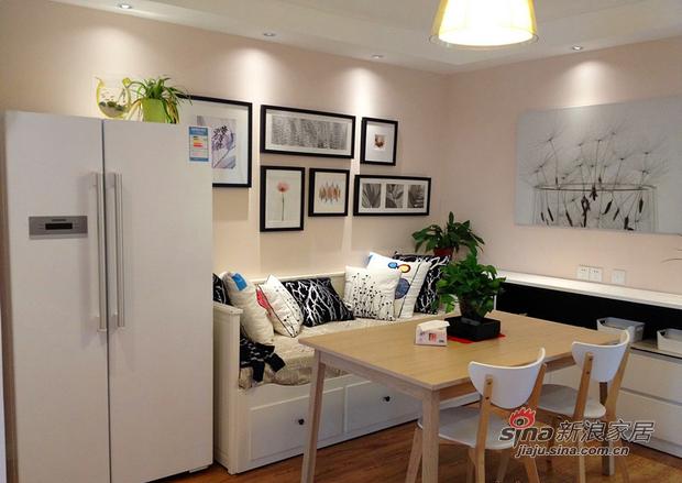 简约 二居 餐厅图片来自用户2738820801在6万装修75平温馨宜家简约小户型46的分享