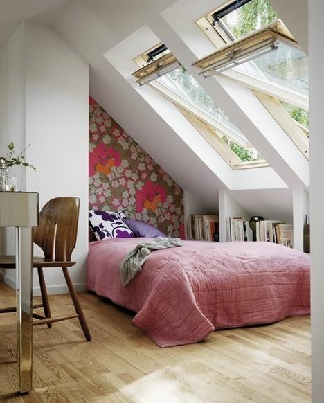 清新 阁楼 卧室图片来自用户2748509701在家装的分享