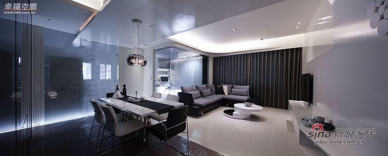 现代 四居 餐厅图片来自幸福空间在省钱夫妻精装102P现代居室50的分享