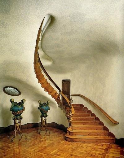 这楼梯好棒啊