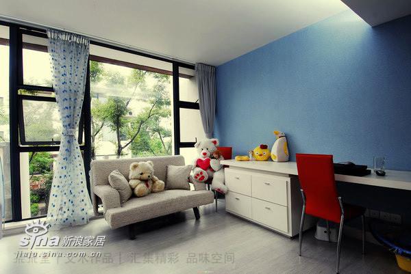 粉粉蓝蓝的房间,是宝宝的乐园!