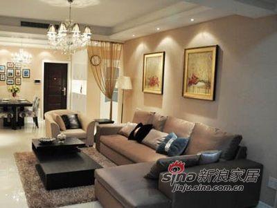 简约 三居 客厅图片来自用户2738813661在15万巧装113平现代简约时尚家33的分享