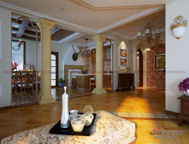 欧式 别墅 客厅图片来自用户2757317061在521平欧式田园风别墅装修设计22的分享