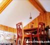 餐厅-全杉木设计,实惠,美观,像不像山姆大叔的小屋啊