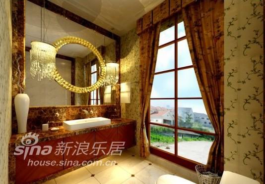 欧式 别墅 卫生间图片来自用户2746953981在金杰湖庭16的分享