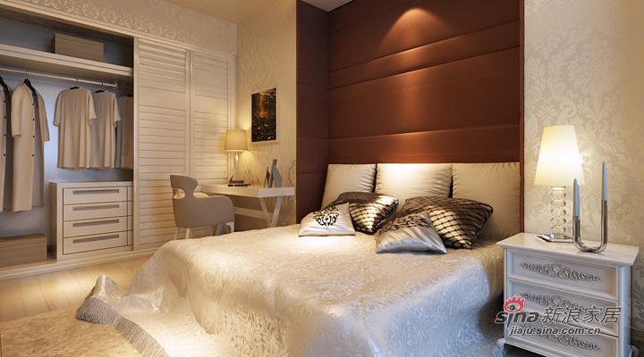欧式 三居 卧室图片来自用户2557013183在120平豪华欧式之居82的分享